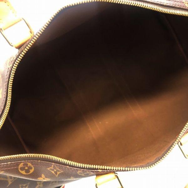 LOUIS VUITTON/ルイヴィトン ボストンバッグ キーポル45 M41428 モノグラム 中身または上からの写真