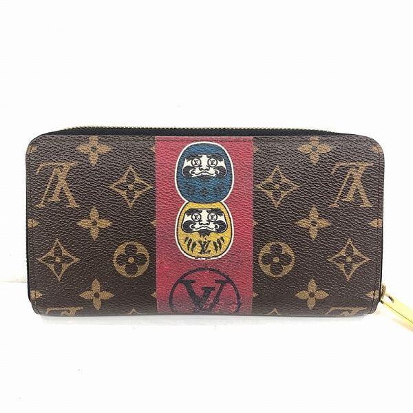 LOUIS VUITTON/ルイヴィトン ラウンドファスナー 財布 ジュピーウォレット M67258 モノグラム 裏側の写真