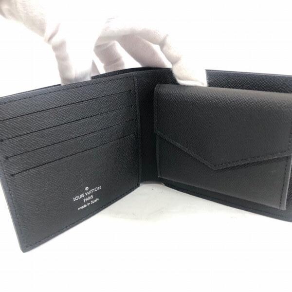 LOUIS VUITTON/ルイヴィトン 2つ折り 財布 ポルトフォイュ マルコ M62289 エピ 中身または上からの写真