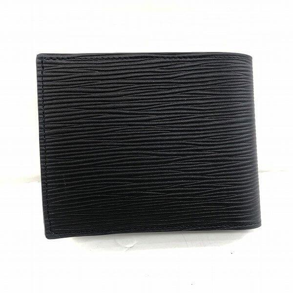 LOUIS VUITTON/ルイヴィトン 2つ折り 財布 ポルトフォイュ マルコ M62289 エピ 側面の写真