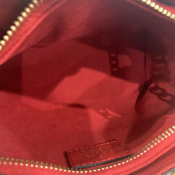 LOUIS VUITTON/ルイヴィトン チェーンショルダーバッグ スレンヌ BB M43776 モノグラム 裏側の写真
