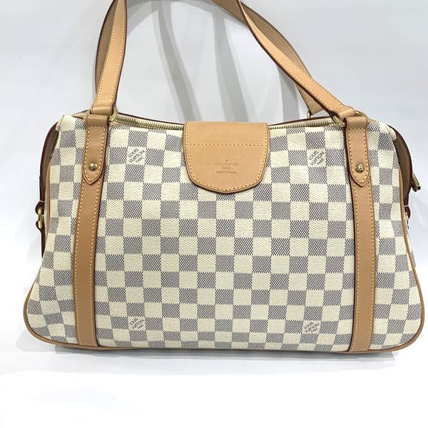 LOUIS VUITTON/ルイヴィトン ショルダートート ストレーザ PM N42220 ダミエ 側面の写真