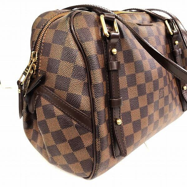 LOUIS VUITTON/ルイヴィトン ショルダーバッグ リヴィトンPM N41157 ダミエ 側面の写真
