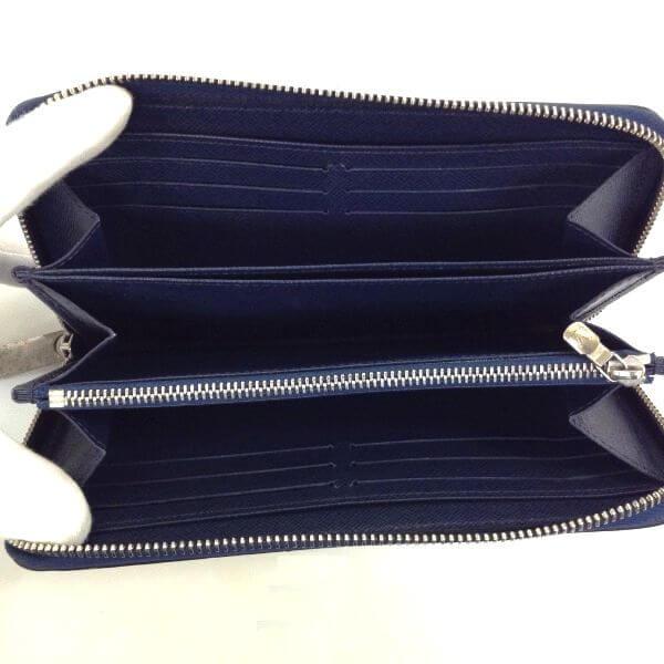 LOUIS VUITTON/ルイヴィトン ラウンドファスナー 財布 ジッピーウォレット M61873 エピ 中身または上からの写真