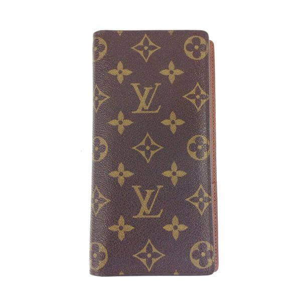 LOUIS VUITTON/ルイヴィトン 2つ折り 財布 ポルトフォイユ・ブラザ M66540 モノグラム 全体の写真