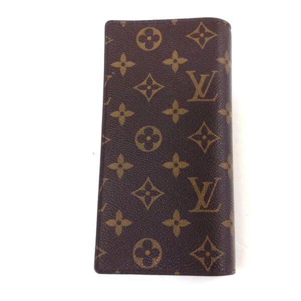LOUIS VUITTON/ルイヴィトン 2つ折り 財布 ポルトフォイユ・ブラザ M66540 モノグラム 裏側の写真