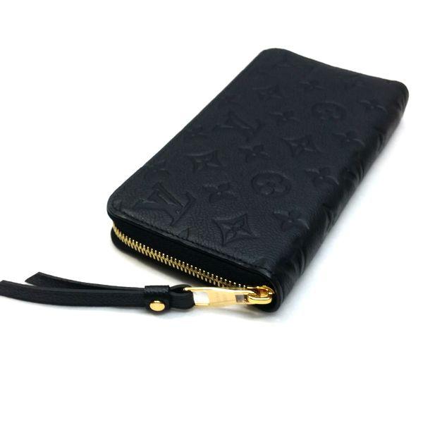 LOUIS VUITTON/ルイヴィトン ラウンドファスナー 財布 ジッピーウォレット M61864 モノグラム アンプラント 裏側の写真