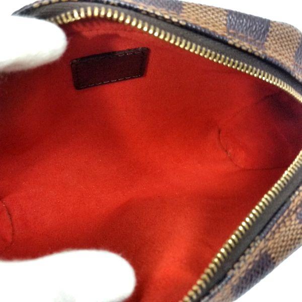 LOUIS VUITTON/ルイヴィトン 袈裟がけ・SDポーチ ポシェット・イパネマ N51296 ダミエ 中身または上からの写真