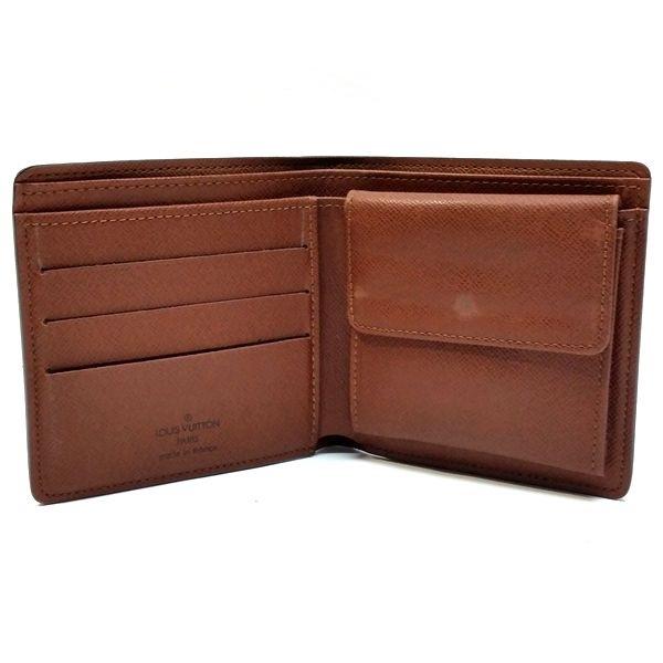 LOUIS VUITTON/ルイヴィトン 2つ折り 財布 ポルトフォイユ・マルコ M61675 モノグラム 中身または上からの写真