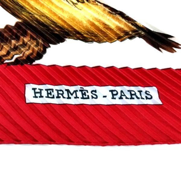 HERMES/エルメス スカーフ・ストール プリーツスカーフ * カレ 中身または上からの写真