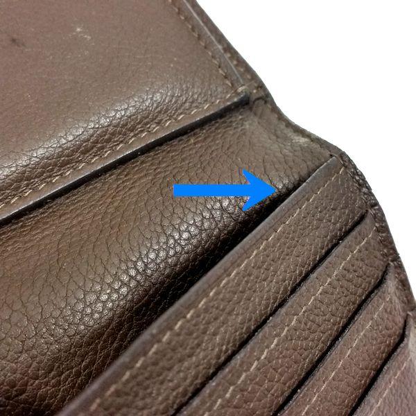 LOUIS VUITTON/ルイヴィトン 3つ折り 財布 ポルトフォイユ・ヴィルトゥオーズ M60388 モノグラム・アンプラント シリアルの場所(寄りの画像)