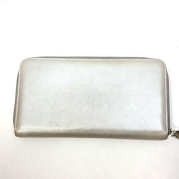 CHANEL/シャネル ラウンドファスナー 財布 ジップウォレット 長財布 *** カメリア 裏側の写真