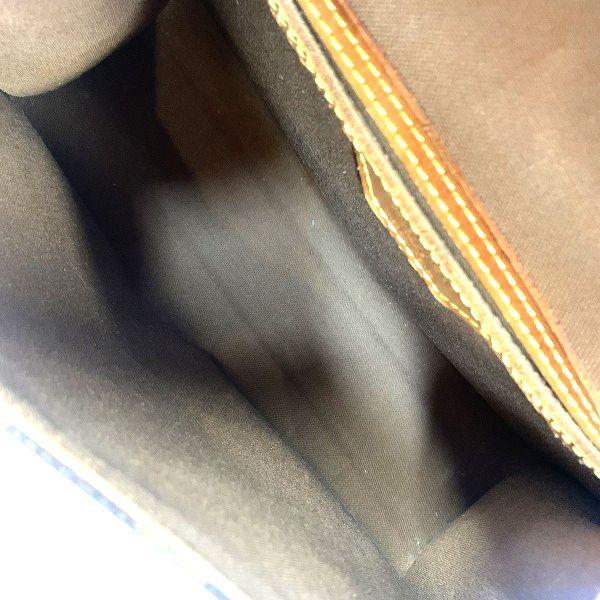 LOUIS VUITTON/ルイヴィトン ショルダーバッグ ベルエア M51122 モノグラム 中身または上からの写真