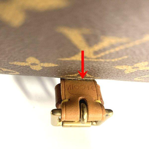 LOUIS VUITTON/ルイヴィトン ショルダーバッグ ベルエア M51122 モノグラム シリアルの場所(寄りの画像)