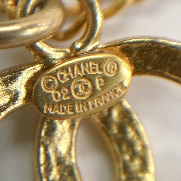 CHANEL/シャネル アパレル小物 CHANEL シャネル ココマーク&ハート ブレスレット ゴールド×ブラック アクセサリー GP レディース  - - 中身または上からの写真