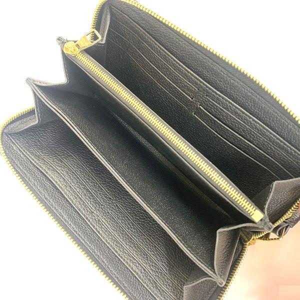 LOUIS VUITTON/ルイヴィトン ラウンドファスナー 財布 ジッピーウオレット M80481 モノグラム 中身または上からの写真